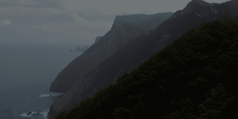 acantilado de madeira. expediciona.